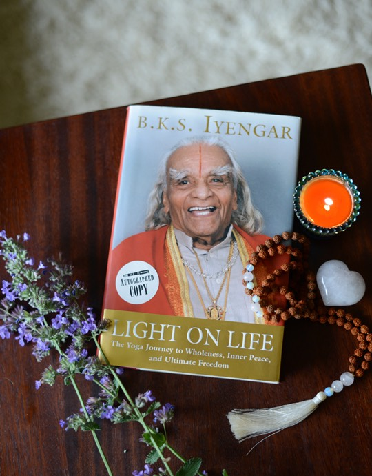 B.K.S. Iyengar- Light on Life