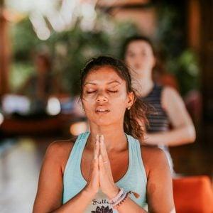 yoga retreat chanting meditation