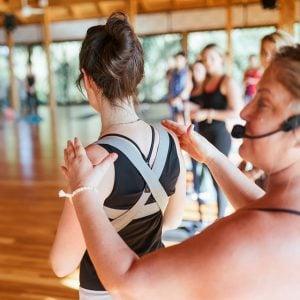 yoga retreat hands on anatomy