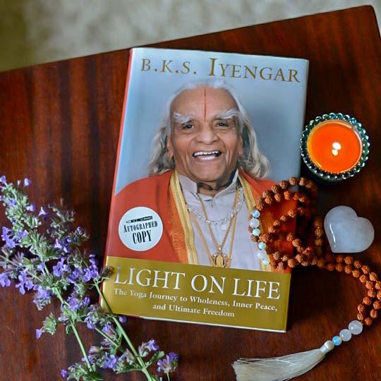 Light on Life by B.K.S. Iyengar